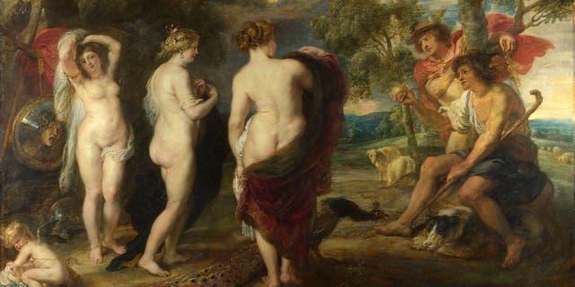 Judgement of Paris by Peter Paul Rubens