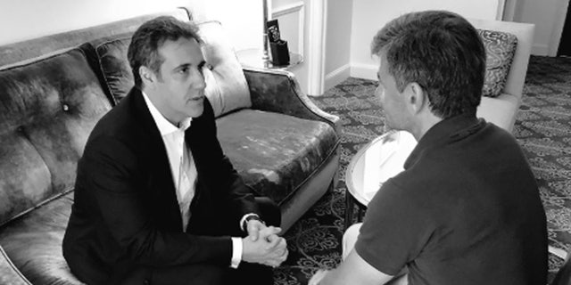 President Trump's former attorney Michael Cohen sat down with ABC's George Stephanopoulos.