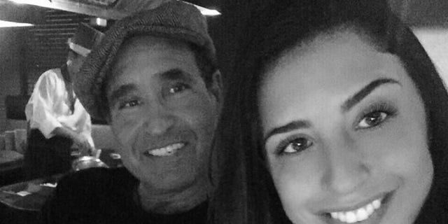 Karina Vetrano (right) was brutally beaten and murdered while she was jogging near her home in Queens last year. Her father (left) discovered her body.