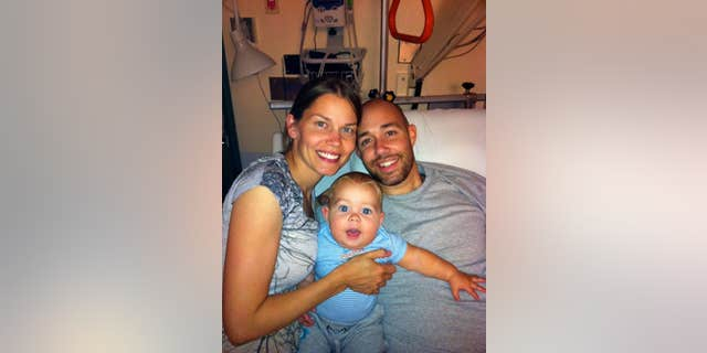 Rep. Brian Mast and his family