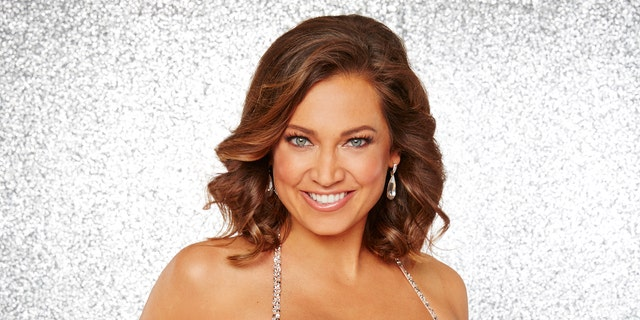 """Here, Ginger Zee appears on ABC's """"Dancing with the Stars."""""""