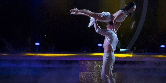 'Dancing with the Stars' on Monday, Oct. 10, 2016.