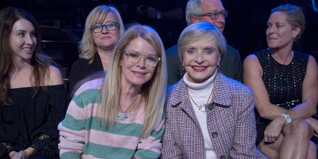 """Florence Henderson appears at the """"Dancing with the Stars"""" finale on Nov. 21, 2016."""