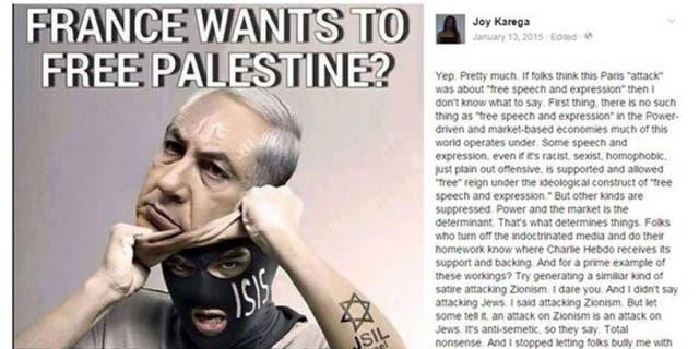 A previous posting on Karega's Facebook page
