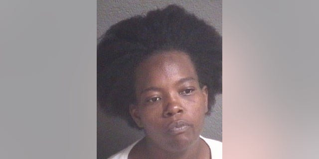 Sekia Wadsworth, 34, was arrested after allegedly throwing boiling water on two children. (Asheville Police Department)