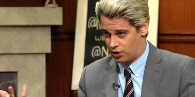 Milo Yiannopoulos delights in provoking liberals, and has developed a fan base on college campuses.
