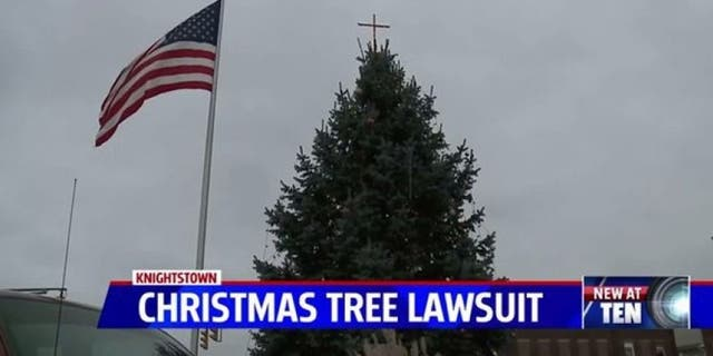 The ACLU sued the Indiana town over its Christmas tree.