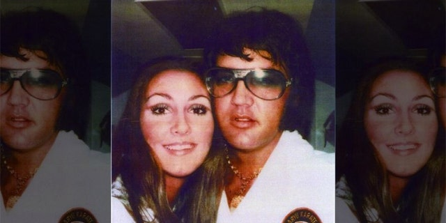 Linda Thompson with her late ex-boyfriend Elvis Presley.