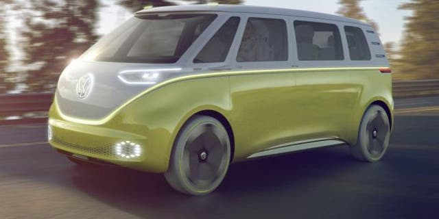 VW's new Microbus will be all-electric and may be available with autonomous driving capability by 2025.