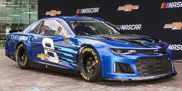 The Nascar Cup Camaro Zl1 Debuted In 2018