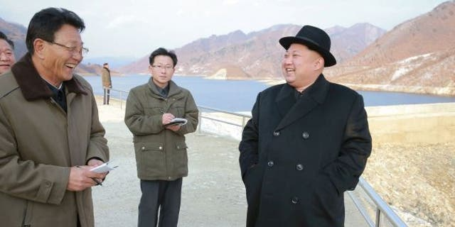 North Korean dictator Kim Jong Un is seen in the above photo released by the reclusive regime.