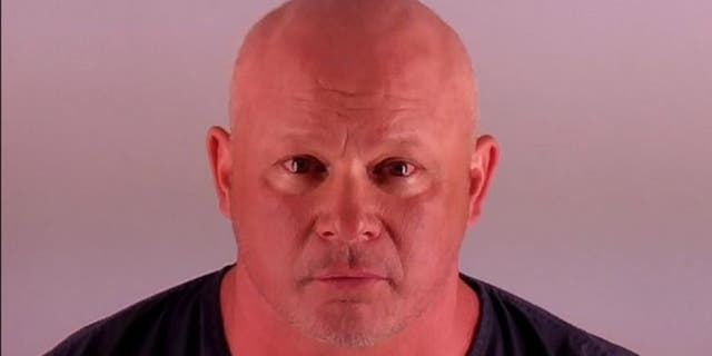 Jay Barbeau, 49, allegedly broke a woman's arm in a road rage case June 1, authorities said.