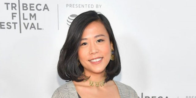 "Domee Shi is the first female director of a Pixar short. ""Bao"" is the animated short film featured before ""Incredibles 2."" Shi attends the Shorts Program: Bao during the 2018 Tribeca Film Festival at Regal Battery Park 11 in New York City, April 21, 2018."