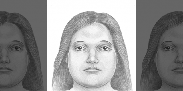 Police released a sketch after the first set of remains in plastic bags were located last Friday.