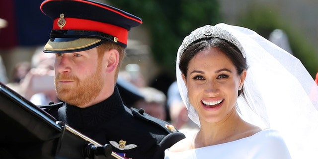 The new Duke and Duchess of Sussex wed on May 19, 2018.