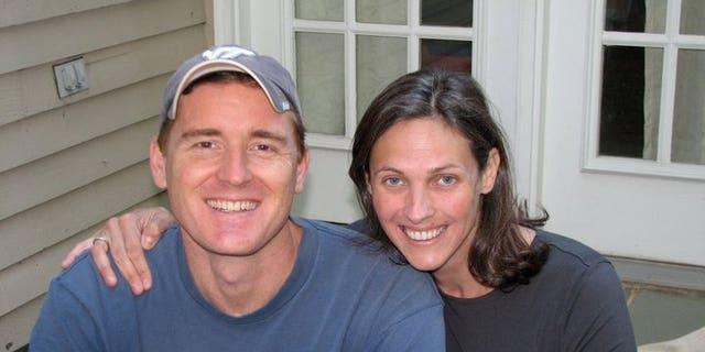 Authorities say Scott Fricker, 48, and Buckley Kuhn-Fricker, 43, were fatally shot in their Virginia home, Dec. 22, 2017.