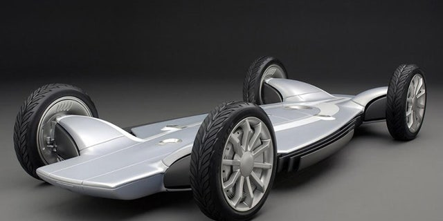 Autonomy was the car of the future circa 2002.