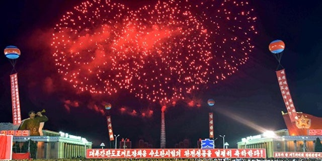 Pyongyang celebrated a successful hydrostatic test.