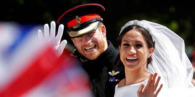 Prince Harry and Meghan Markle married on Saturday, May 19, 2018.