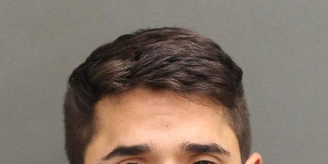 Alexander Garces, 22, is accused of raping a woman at an Alpha Tau Omega fraternity party at the University of Central Florida.