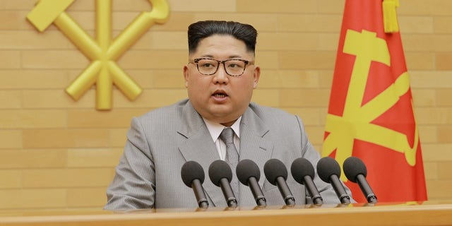 Kim Jong Un delivered a New Year's Day address talking about the Winter Olympics and his nuclear button.