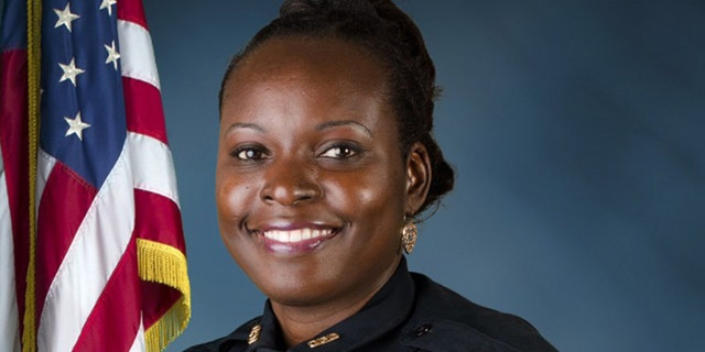 Lt. Debra Clayton posthumously received the Purple Heart Award, the highest honor by the Orlando Police Department.