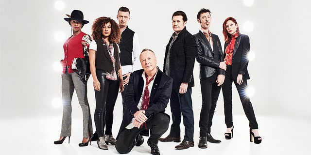 Simple Minds today.