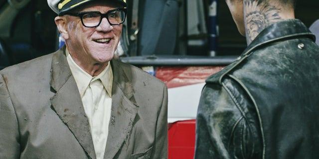 "Malcolm McDowell stars in ""American Satan""."