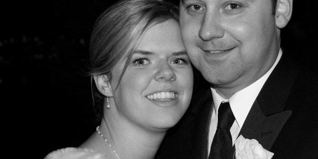 Heather and her husband Tony.