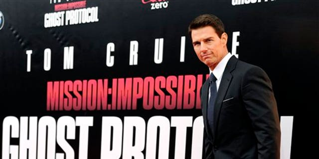 Dec. 19: Actor Tom Cruise attends the U.S. premiere of 'Mission: Impossible - Ghost Protocol' at the Ziegfeld Theatre in New York.