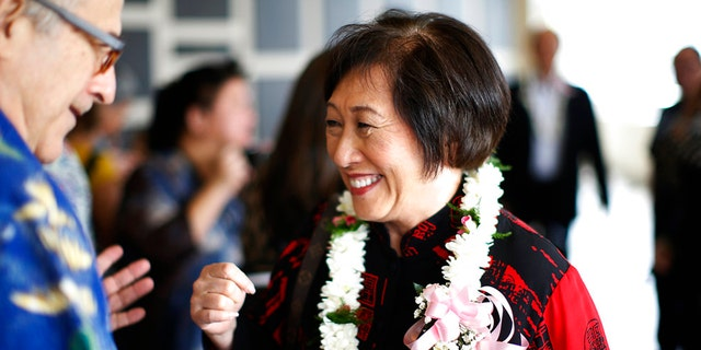 Rep. Colleen Hanabusa is challenging Ige in the Democratic primary.