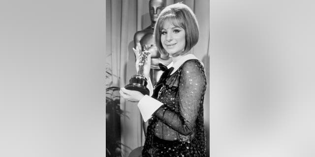 Barbra Streisand didn't know her sequined pantsuit was transparent when she wore it in 1969.