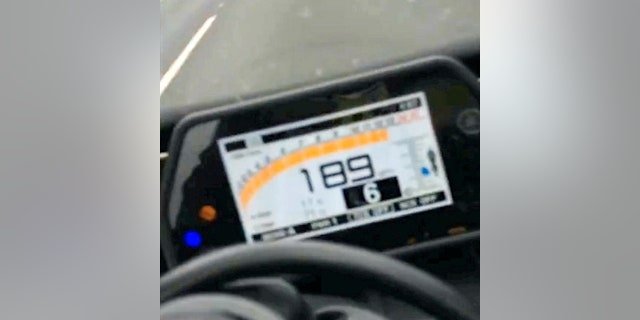 A 26-year-old biker has been jailed after he filmed himself travelling at almost 200MPH - believed to be the highest speed ever clocked by a motorbike on British roads. See NTI story NTISPEED.  Heart-stopping footage shows idiotic Adam Campion hurtling along roads at breakneck speeds while pulling dangerous wheelies and weaving in and out of traffic.  He was also captured in shocking mobile phone clips driving on the wrong side of the road and filming himself hitting a top speed of 189mph on a stolen motorbike.  Police discovered the damning footage when they executed a warrant at Campion's address and recovered his laptop in September 2016.  Officers had earlier found a licence plate in the boot of an abandoned car which was connected to a stolen motorbike linked to Campion.  Campion, of Hucknall, Notts., was jailed for 21-months at Nottingham Crown Court on Wednesday (18/7) after pleading guilty to five counts of dangerous driving.  He also pleaded guilty to assisting an offender in the retention of stolen goods.  The court was told how Campion's laptop was seized, which contained hundreds of videos and images of motorcycles being driver recklessly.  Detectives used forensic facial recognition which identified Campion as the rider - despite him wearing a crash helmet at times.