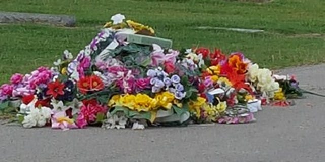 The contractor in charge of keeping the cemetery tidy apologized, according to the city.