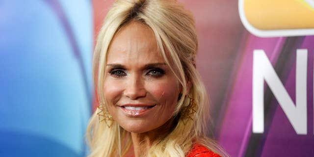 Kristin Chenoweth arrives at the NBCUniversal Television Critics Association summer press tour, in Beverly Hills, Calif.