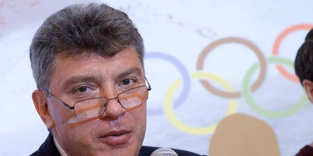 Nemtsov, a former Russian deputy prime minister and vocal critic of Putin, was gunned down in Moscow last year. (AP)