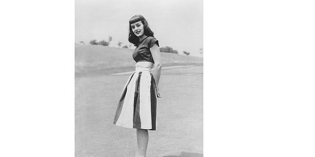 Carolyn Scott Reybold in 1947.