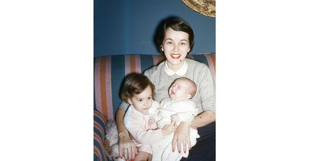 Carolyn Scott Reybold in 1953.