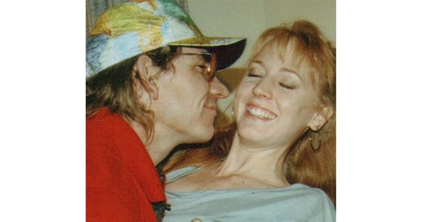 Joe Walsh and Kristin Casey in 1990.