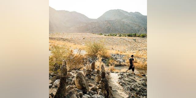 Weekends: Desert; Feb'13; Desert hike at la Quinta Cove