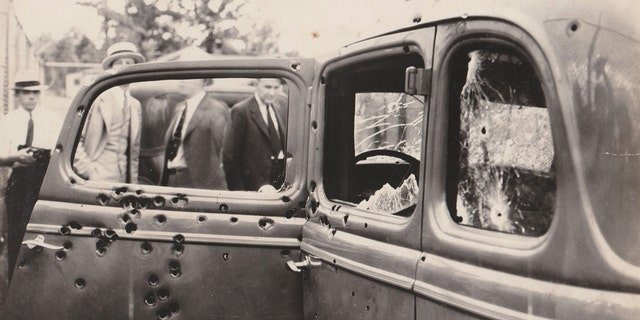 Bonnie and Clyde were captured after a two-year crime spree that saw them robbing several banks and killing 13 people.