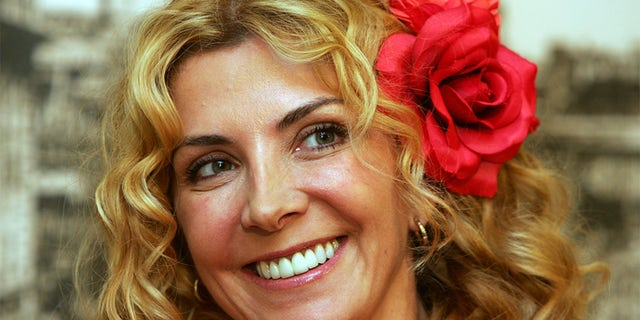 "British actress Natasha Richardson during a news conference for the movie ""The White Countess"" in Shanghai on Oct. 8, 2004."
