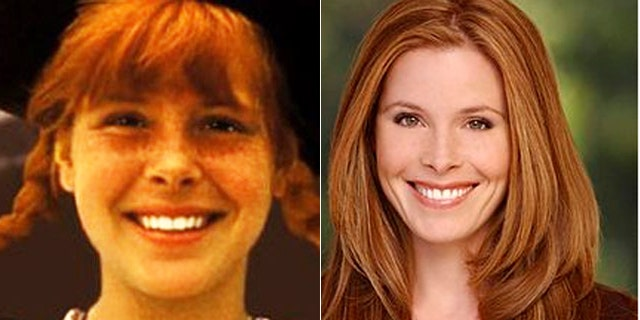 "Tami Erin is seen as ""Pippi Longstocking,"" left, and in recent years."
