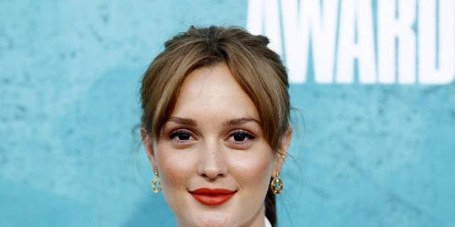 Leighton Meester took a jab at Donald Trump with a song on her Instagram.
