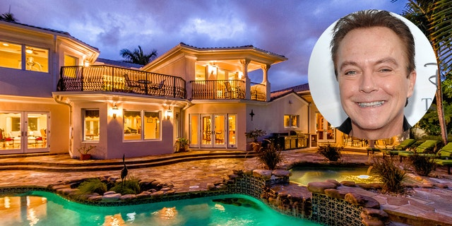 A Florida home once owned by teen heartthrob David Cassidy is for sale for $3.9 million.