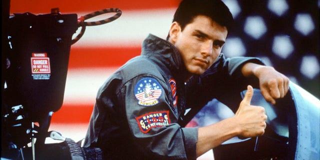 Tom Cruise in 'Top Gun.' (Paramount)
