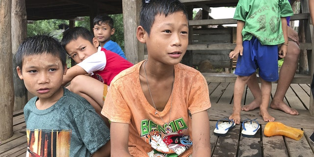 There is an unknown future for these Christian children in Burma.