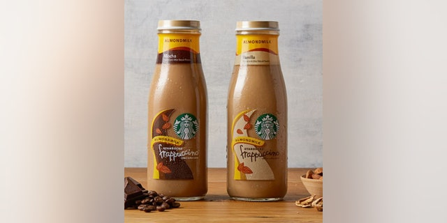 Starbucks will soon sell its bottled Frappucinno drinks with almond milk