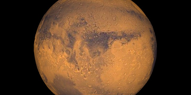 The planet Mars showing showing Terra Meridiani is seen in an undated NASA image. (REUTERS/NASA/Greg Shirah/Handout)