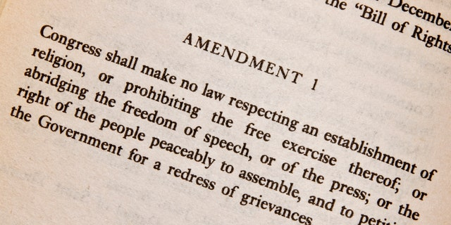 the first amendment to the US Constitution